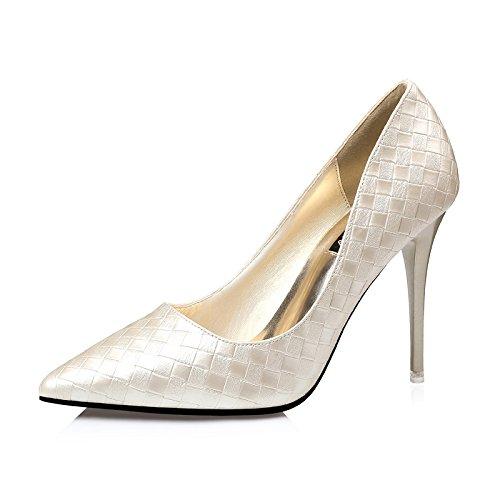 FLYRCX Le donne sexy sharp tacco scarpe tacco personalità del mondo della moda di scarpe di partito D