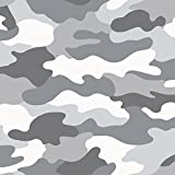 Grey Camouflage Tapete- WOW010