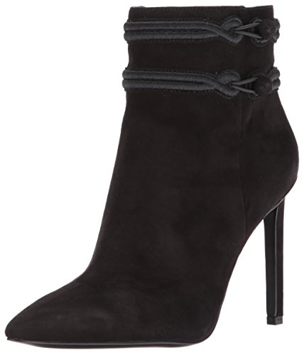 Nine West Damen Teresa Stiefel, Schwarz (Black), 39 EU (Toe Pointy Bootie)