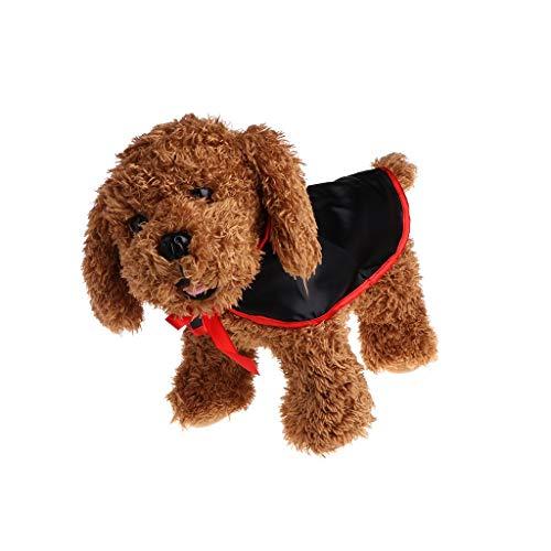 Vektenxi Haustiere Halloween Mantel, Vampir Kostüm Cape Cosplay, Hund Katze Welpe Kleidung Mantel langlebig und Practical (Für Hunde Kostüme Vampir)