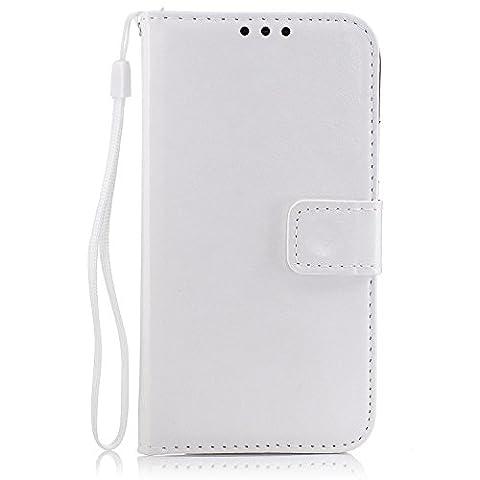 Coque Samsung Galaxy S5 Étui Bookstyle blanc , Cozy Hut