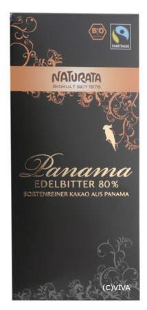 Naturata Bio Panama Feinbitter 80 % (1 x 100 gr)