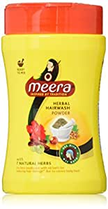Meera Hair Wash Powder, 120g
