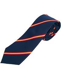 "Corbata azul con bandera ""Española"""