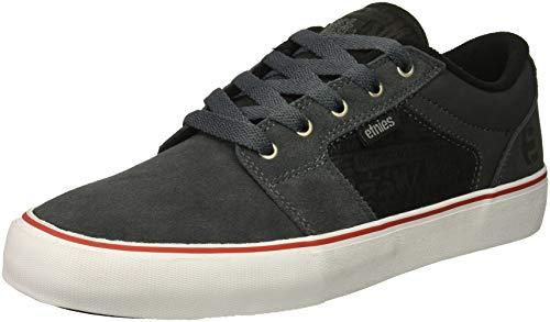 Etnies Barge LS Skate Shoe - Grau Wildleder Skate Schuh