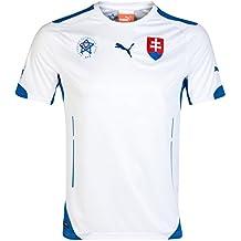PUMA Herren Slowakei Trikot Slovakia Home Shirt Replica
