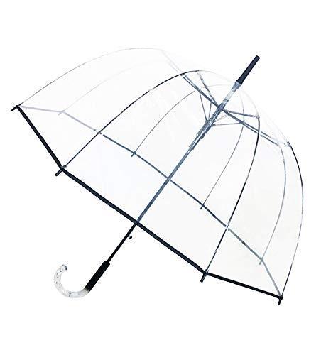 Smati ombrello trasparente - lunga campana - antivento