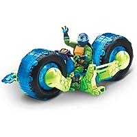 The Rise of The Teenage Mutant Ninja Turtles - Vehicle with Figure - Shell Hog with Leo