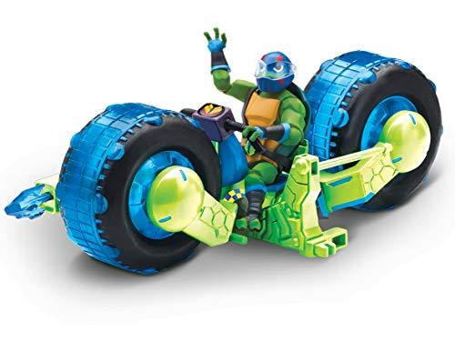Turtles tuab5200die Rise Fahrzeug mit Figur–Shell Hog mit Leo ()