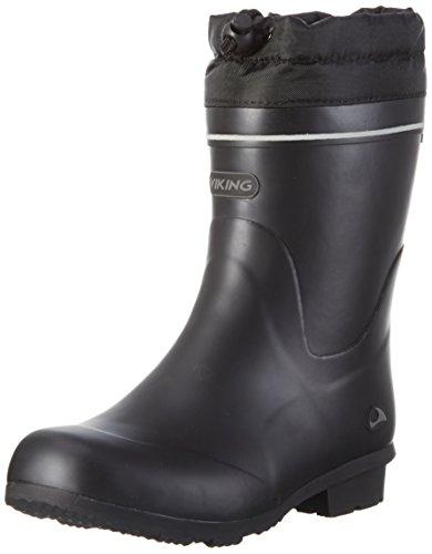 Viking Kunto Mid Winter, Bottes mi-hauteur avec doublure chaude mixte adulte Noir - Schwarz (Black 2)