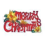 New Large Window Light LED Merry Christmas Sign Battery Operated Xmas Decoration