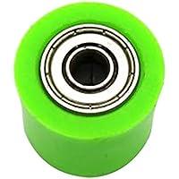 Gazechimp Rodillo Cadena de Transmisión de Caucho de 8mm para CRF YZF KTM RMZ KLX Automoviles - Verde