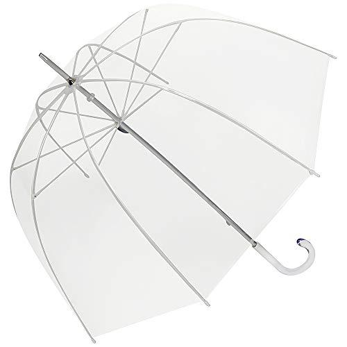 Von lilienfeld® ombrello classico donna lungo uomo trasparente melina