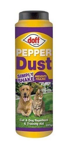 DOFF - Polvere di pepe repellente per cani e gatti, 225 g