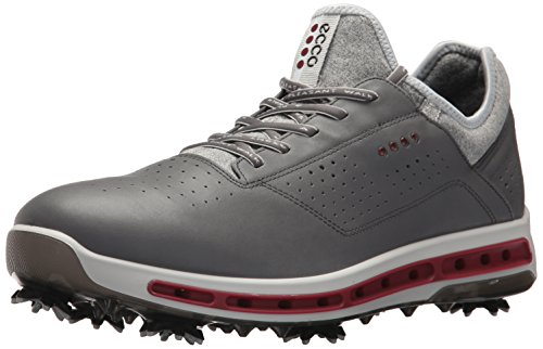 ECCO Herren Men\'s Golf COOL Golfschuhe, Grau (Dark Shadow/Black Transparent), 42 EU