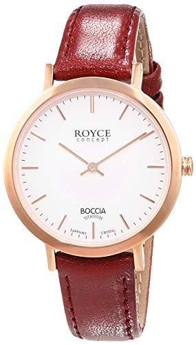 Boccia Damen-Armbanduhr Analog Quarz Leder 3246-02