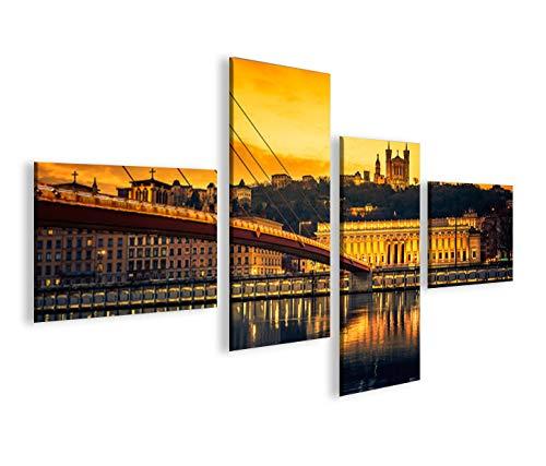islandburner Impression sur Toile Lyon 4L Image sur Toile - Images - Photo - Tableau - Tableaux - déco Murale