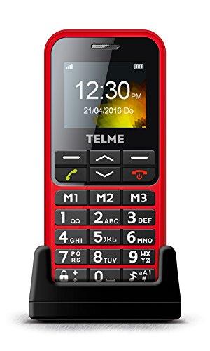 emporia talk comfort Emporia TELME C151 (Extragroße beleuchtete Großtastenhandy) Rot