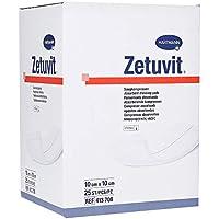 ZETUVIT Saugkompressen steril 10x10 cm 25 St Kompressen preisvergleich bei billige-tabletten.eu