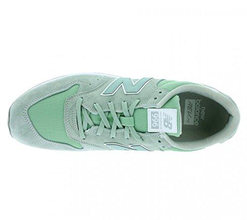 New Balance 996 Uomo Sneaker Verde LH mint cream