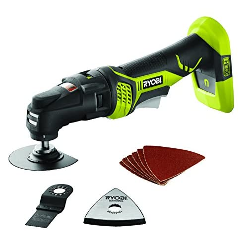 41WxFuFW6bL. SS500  - Ryobi RMT1801M One+ Multi Tool, 18 V (Body Only)