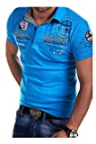 MT Styles Poloshirt CHALLENGE T-Shirt R-2728 [Türkis, L]