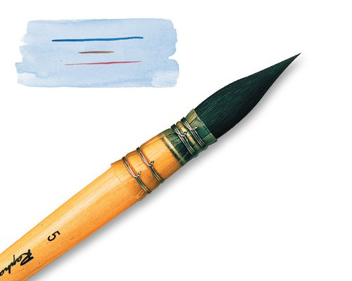 Raphael Watercolor Quill Mop brush size 3 by Raphael