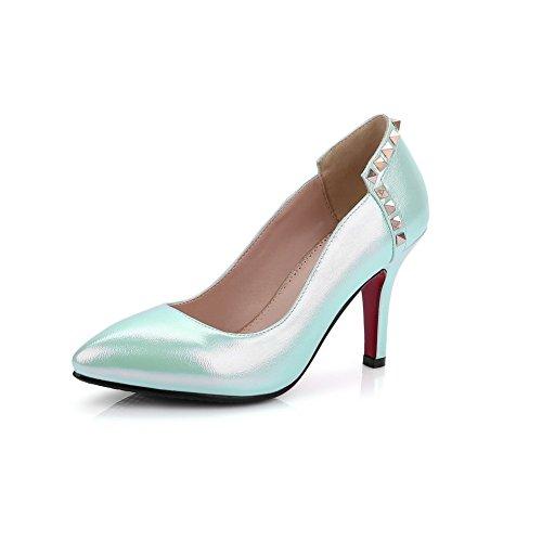 Adeesu Adeesusdc03755 - Sandales Compensées Bleues Pour Femme