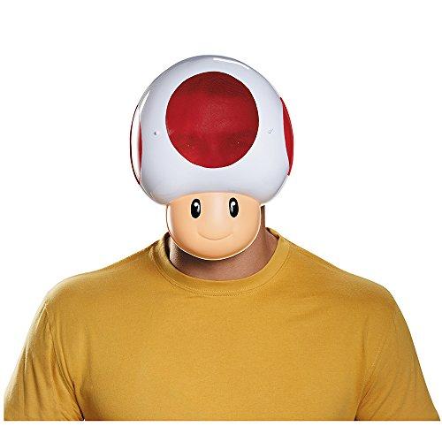 Generique - Toad Maske für Erwachsene (Luigi Für Erwachsene Kostüm Maske)