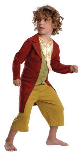 eutlin Kostüm Herr der Ringe Hobbit Outfit 3–4Yrs (Bilbo Beutlin Kostüm Für Herren)