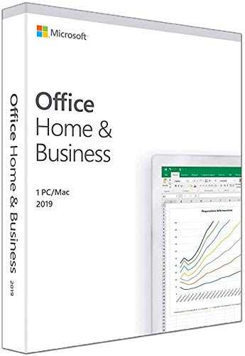 MlCROSOFT Office 2019 Home & Business per MAC os Versione Perpetua MICROSOFT