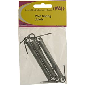 41WxJWf1sTL. SS300  - W4 Pole Joiners (Pack of 3) - Grey