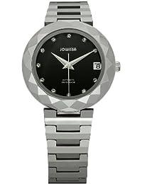 Jowissa Soletta J1.170.M - Reloj analógico automático para mujer, correa de wolframio color plateado