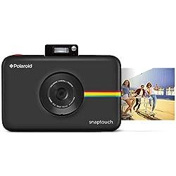 Polaroid Snap Touch - Appareil Photo Numérique à Impression Instantanée avec Écran LCD et Technologie d'Impression sans Encre Zink, Noir