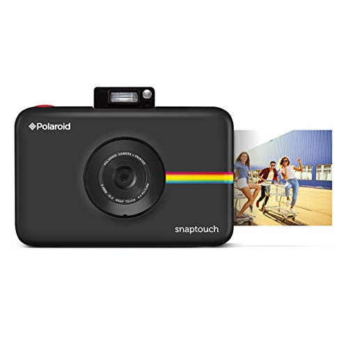 Polaroid Snap Touch Instant Print Digital Camera (Black) with LCD Display and Zink Zero Ink Printing Technology