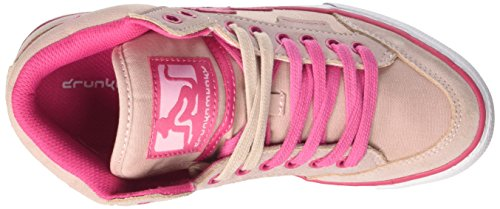 DrunknMunky Boston Vitaminix, Chaussures de Tennis femme Rosa (Light Pink/Fucsia)