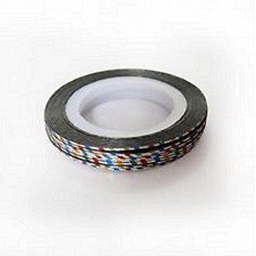 Striping tape fil ultra-brillant pour nail art-multicolore