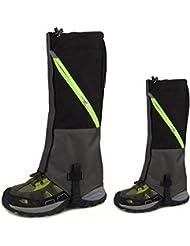 kepooman 1Paire Unisexe imperméable respirant Jambes Guêtres Legging Wrap pour ski snowboard Randonnée