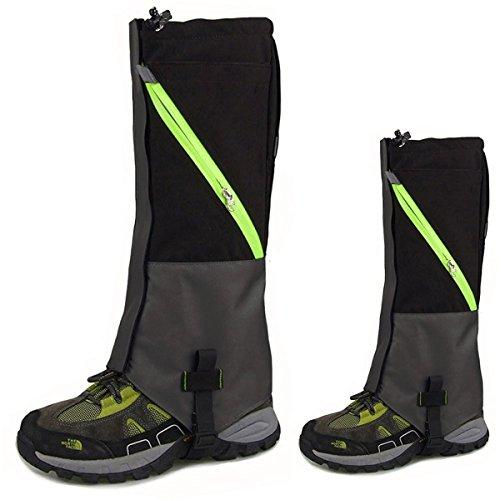 KepooMan 1 Paar Unisex wasserdicht Atmungsaktiv Bein Gamaschen Leggings Wrap für Skifahren Snowboarden Wandern Klettern