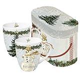 Set tazze natalizie con box