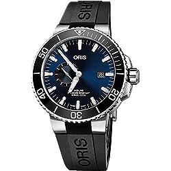 Oris Aquis pequeño segundo, fecha Hombres Reloj De 74377334135rs