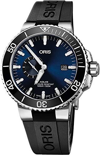 Oris Aquis Small Second, Date Men's Watch 74377334135RS