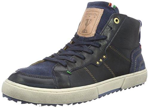 Panto Drous Teco Fourrure Homme Mi, Sneakers Man Blau (.29y)
