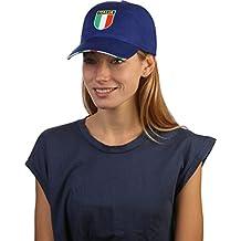 Cappello Cappellino con visiera rigida SCUDETTO TRICOLORE BANDIERA ITALIA  ITALIANA 44d19245ce83