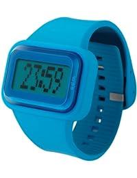 ODM DD125-4 Rainbow - Reloj digital unisex (correa azul de silicona)