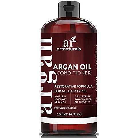 Art Naturals giornaliero di olio di Argan Capelli conditioner- 473ml–sulfate-free-contains cheratina - Maple Silk Tree