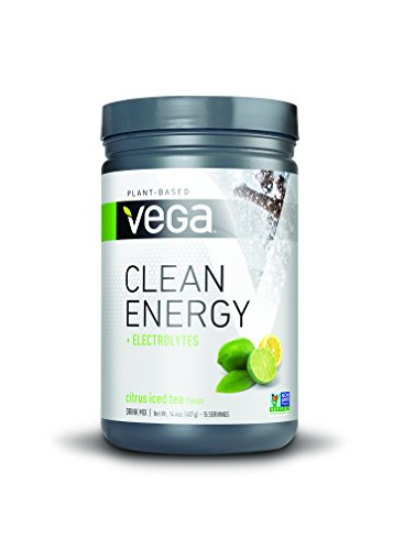Vega Clean Energy – 15 serv, Citrus Iced Tea, 408 g