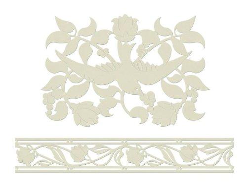 Home Design B15001 - 3D Dekor Motiv selbstklebend Tulpen 6m