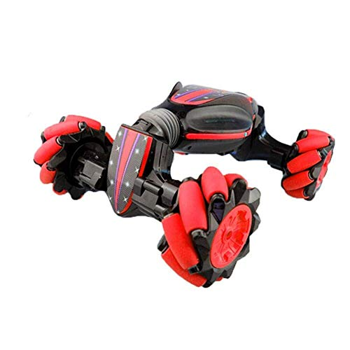 Perfettamente creativo, Gesture Remote Control Auto for bambini a distanza stunt controllo auto induzione Twisting Fuoristrada Musica Leggera Danza laterale regalo Giocattolo di guida Drift (en) Gio