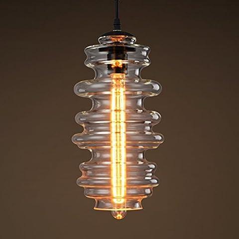 [Spazio] Arti lampada minimaliste lampadari in vetro retr¨° American Bar Caff¨¨ Ristorante vetro soffiato lampadario